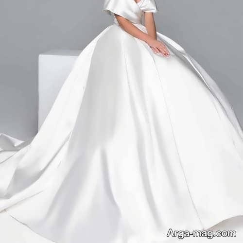 شیک ترین لباس عروس ساتن