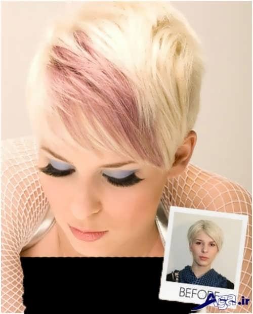 مدل مو زنانه کوتاه و جدید