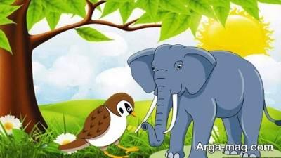 داستان کودکانه فیل