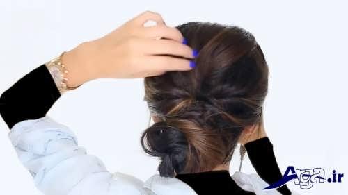 مدل آرایش موی زنانه ساده