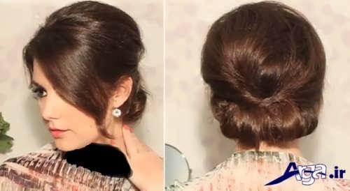 مدل آرایش مو ساده و جذاب