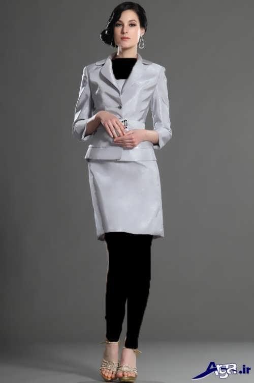 مدل شیک و جذاب کت و دامن