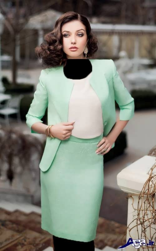 مدل کت دامن ساده زنانه