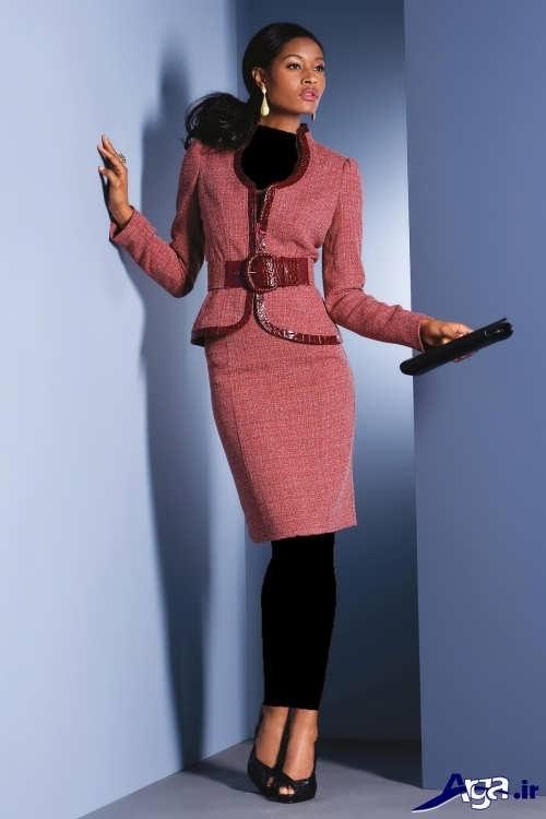 مدل کت و دامن زیبا و متفاوت زنانه