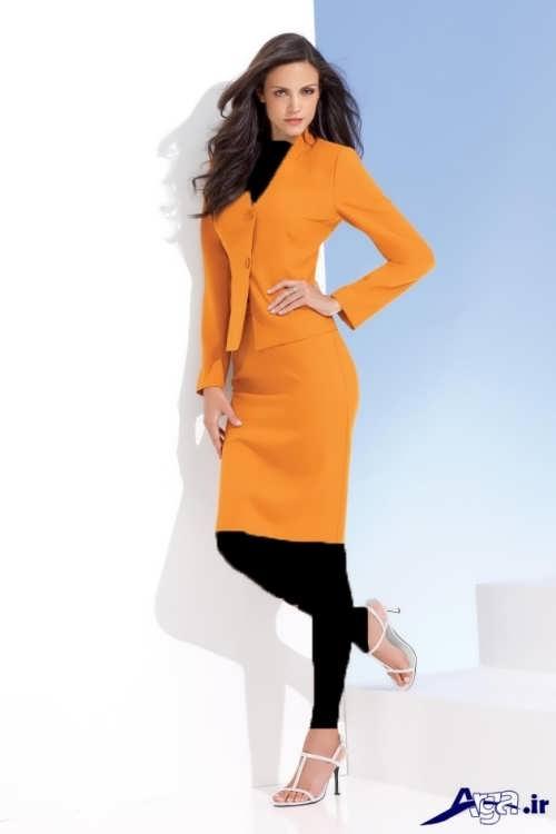مدل کت و دامن ساده زنانه