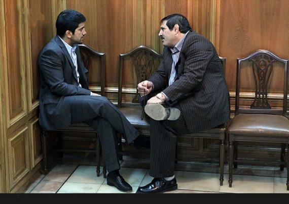درگیری فیزیکی دو عضو شورای شهر تهران