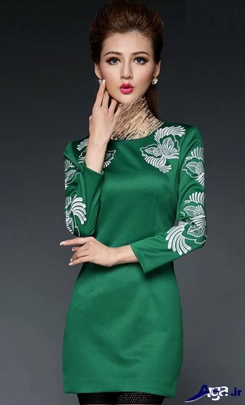مدل تونیک کره ای طرح دار و جذاب