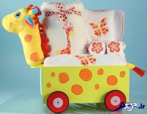 تزیین پوشاک نوزاد