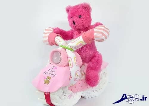 تزیین پوشک نوزاد