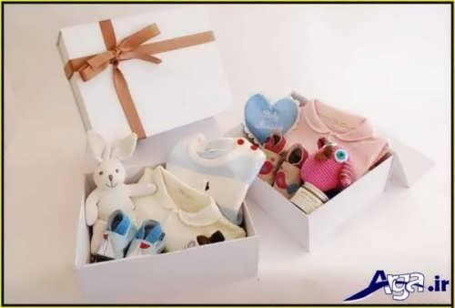 تزیین ساده پوشاک نوزاد