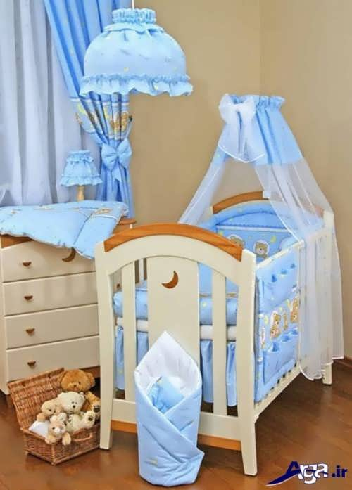 تزیین سرویس خواب نوزاد با کمک ایده های کاربردی و آسان