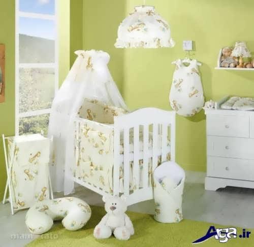 تزیین وسایل سیسمونی برای نوزاد دختر و پسر