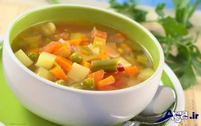 طرزتهیه سوپ رژیمی