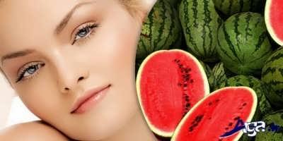 رفع جوش پوست با هندوانه