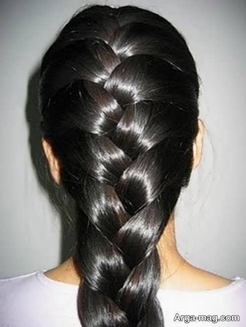 تصاویری از بافت مو حصیری