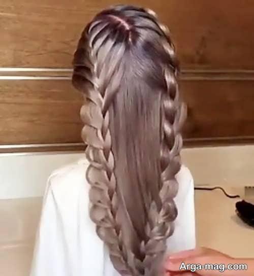 بافت موی حصیری جذاب