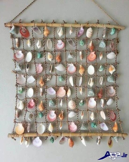 ساخت کاردستی با صدف ماهی