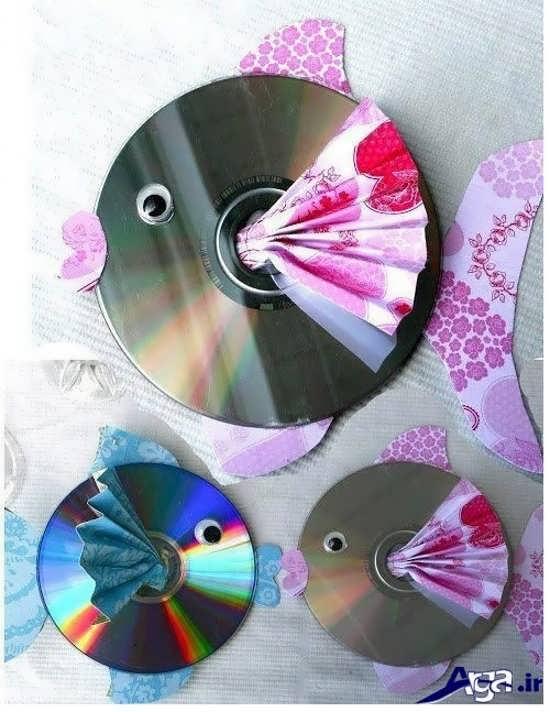 ساخت کاردستی با سی دی برای کودکان