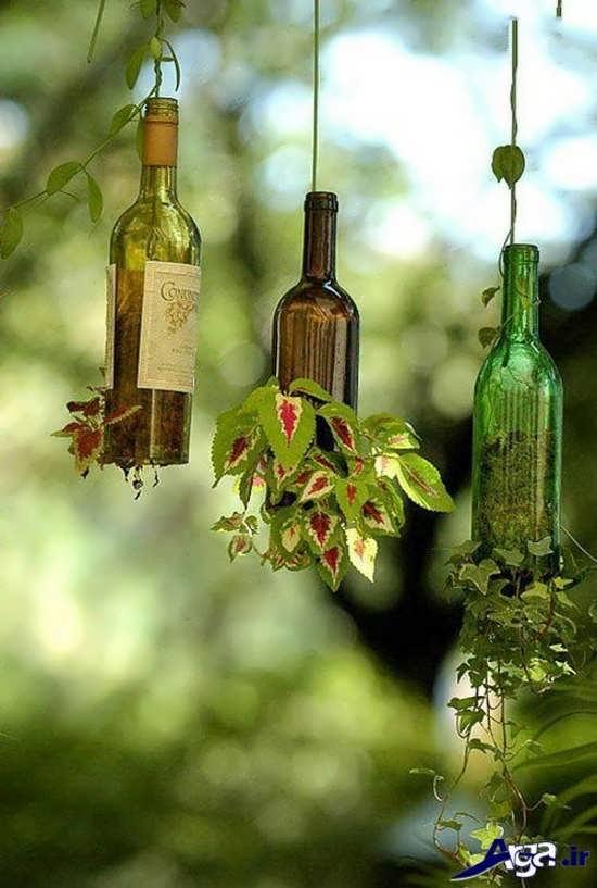 کاردستی با بطری های دورریخته