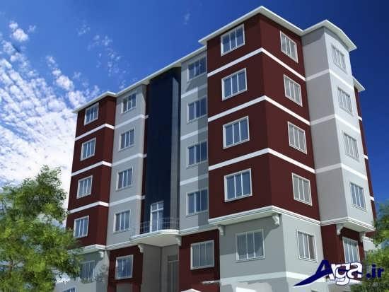 متفاوت ترین نمای بیرونی ساختمان چهار طبقه