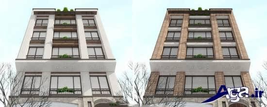 نما ساختمان های چهار طبقه