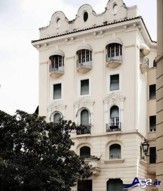 ساختمان چهار طبقه کلاسیک