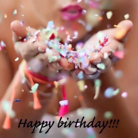 عکس بسیار زیبای تبریک تولد برای پروفایل