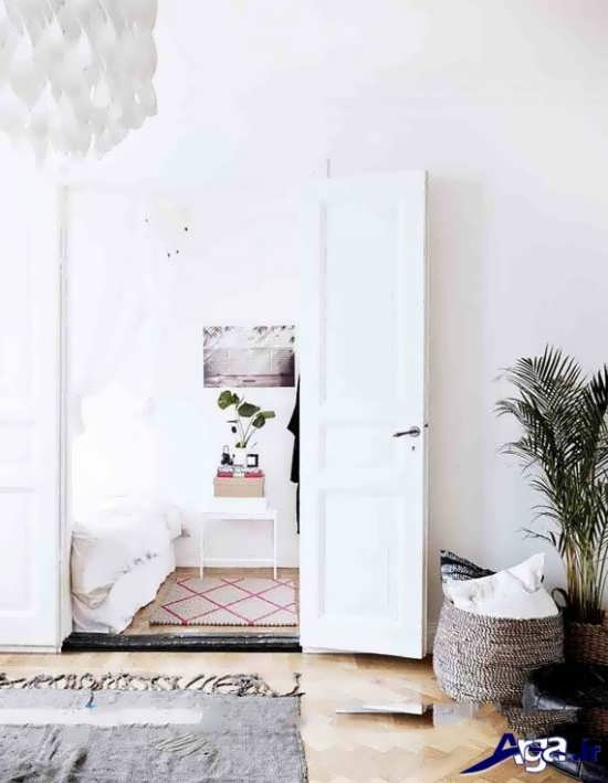 طرح شیک وجدید مدل درب اتاق خواب