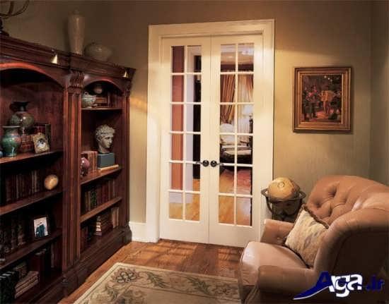 درب اتاق خواب شیشه ای