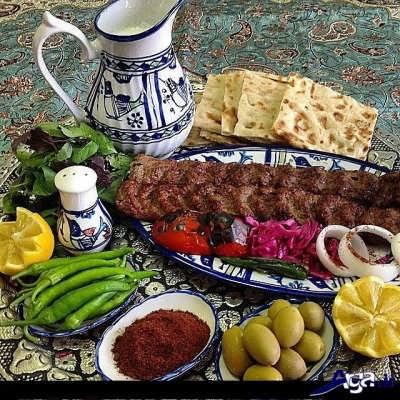 kabab 5 - طرز تهیه کباب کوبیده خانگی و فوت و فن ها پخت کباب کوبیده