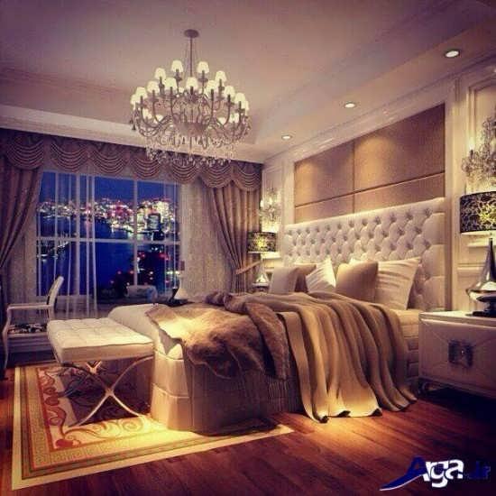 طراحی سلطنتی اتاق خواب