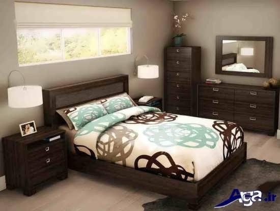 طراحی داخلی اتاق خواب باتابلو