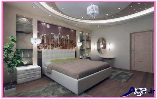 طراحی مدرن ولوکس اتاق خواب