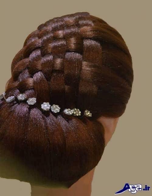 مدل بافت موی حصیری جدید و جذاب