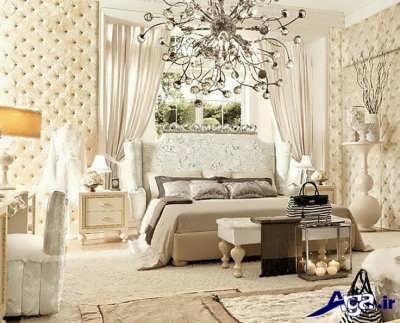 سرویس خواب سفید مدرن ولوکس