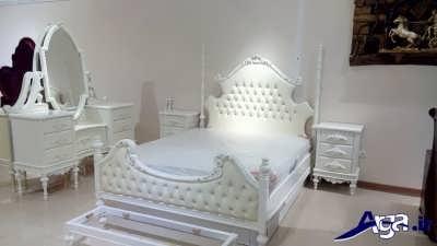 سرویس خواب سفید فانتزی
