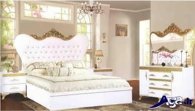 سرویس خواب سفید متنوع