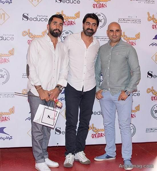 هادی کاظمی و علی مسعودی