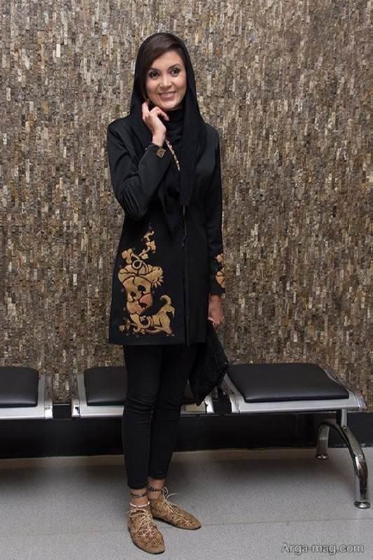 سامیه لک در اکران فیلم اکسیدان