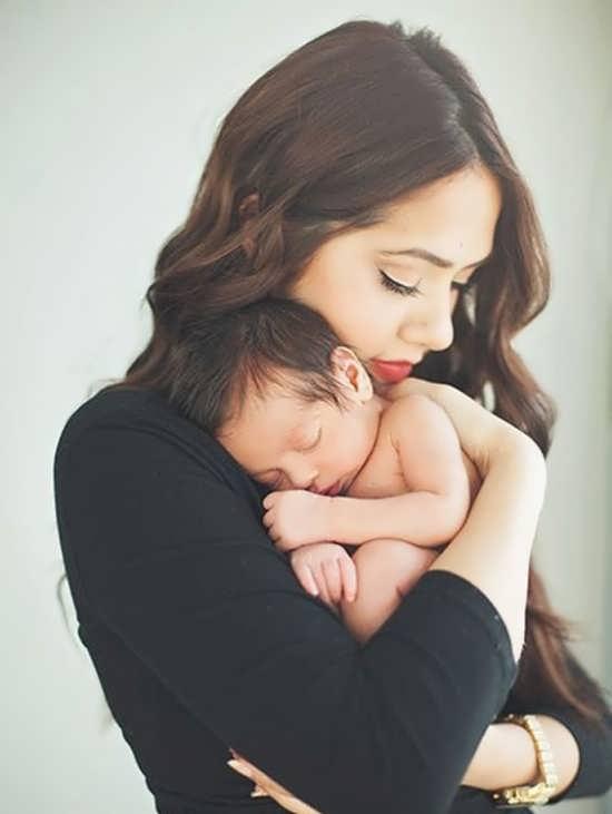 عکس پروفایلی از نوزاد