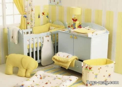 چیدن سیسمونی نوزاد