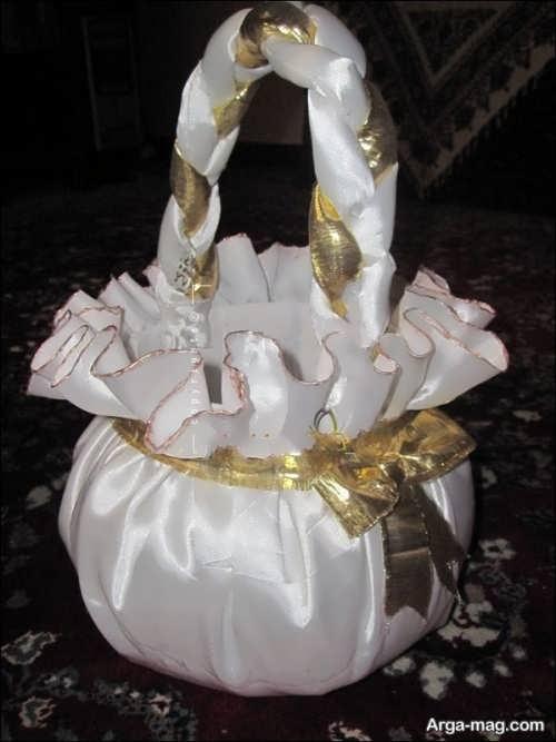 انواع تزیینات سبد برای عروسی