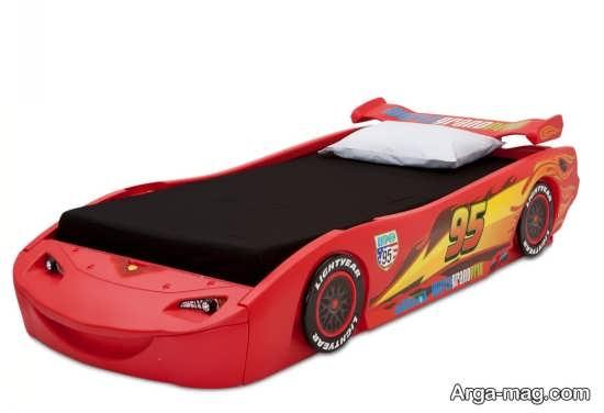 مدل تخت خواب ماشین پسرانه