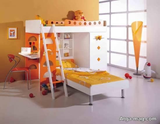 طراحی مدرن تخت خواب پسرانه