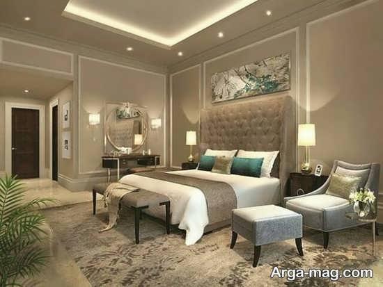 دیزاین داخلی اتاق خواب لوکس
