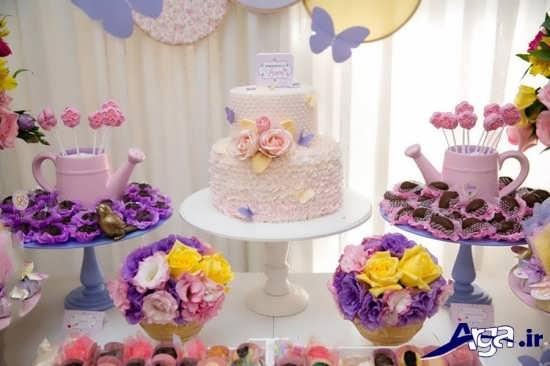 انواع تزیین کیک تولد