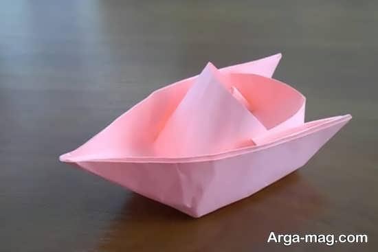 ساخت قایق زیبا و ساده برای کودکان