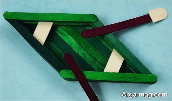 مدل قایق چوبی ساده