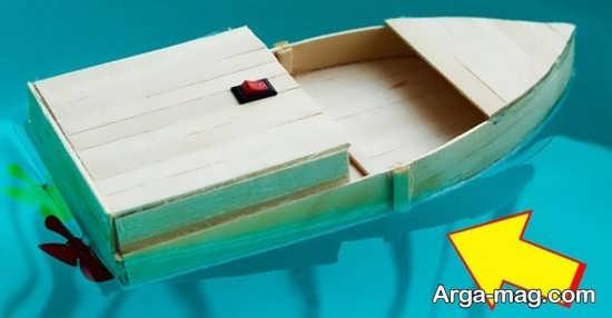 ساخت قایق جالب با وسایل ساده