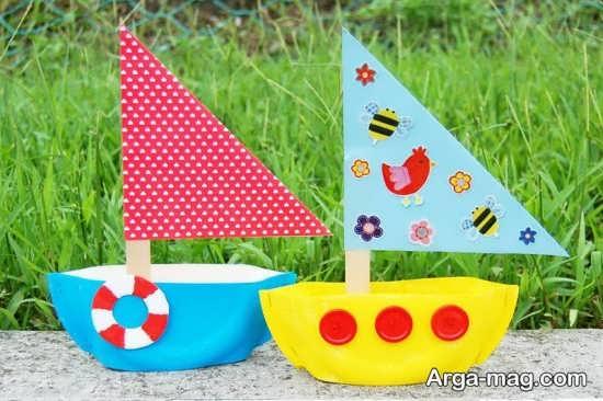 ساخت قایق با کاغذ